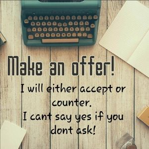 Accessories - Don't be afraid to submit an offer❤️